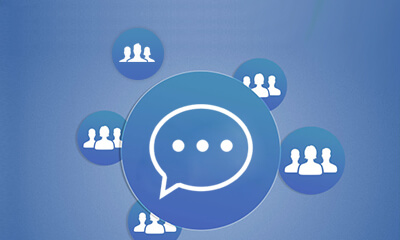 Individual & Group Picture Chat Button